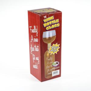Wine Bottle Glass-521