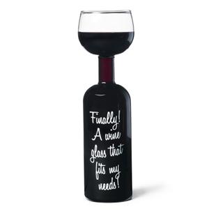 Wine Bottle Glass-519