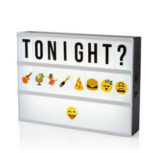 Emoji Smiley Letter Sheet for A4 Lightbox-1856