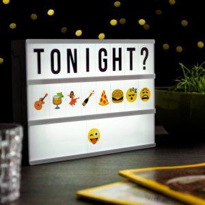 Emoji Smiley Letter Sheet for A4 Lightbox-1855