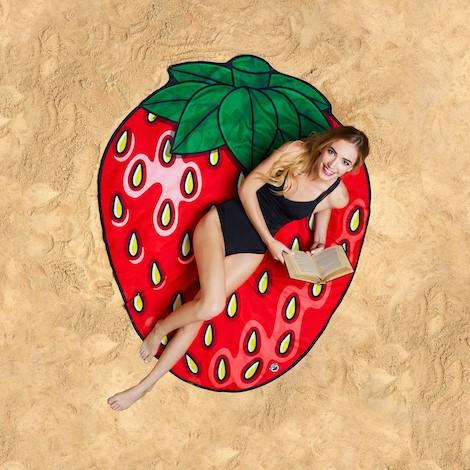 Beach Blanket Strawberry 1.5M-0