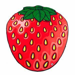 Beach Blanket Strawberry 1.5M-2351
