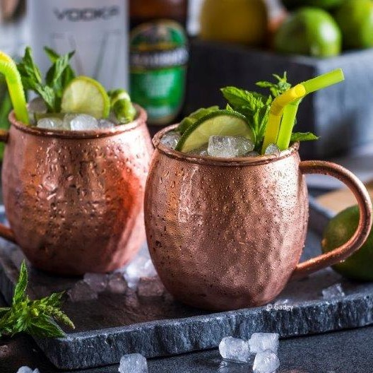 Moscow Mule Mugs set 2pc-0