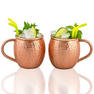 Moscow Mule Mugs set 2pc-2658