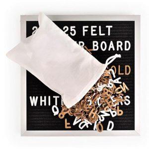 Letter Board Aluminium 25x25cm.-0