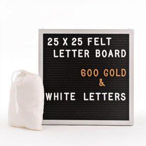 Letter Board Aluminium 25x25cm.-2717