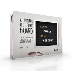 Letter Board Aluminium 25x25cm.-2711