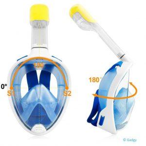 Dive Mask Kids Blue-3273