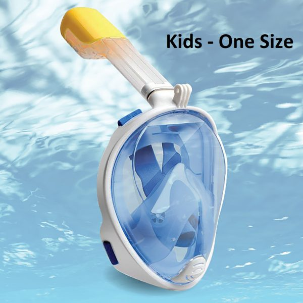 Dive Mask Kids Blue-0