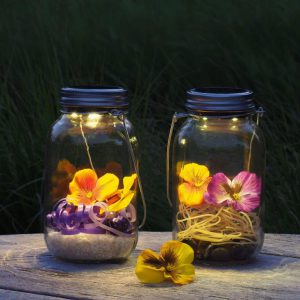 Solar Jar Light Set Big 2 pc-0