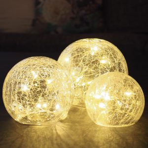 Crackle Glass Ball Lights-3118