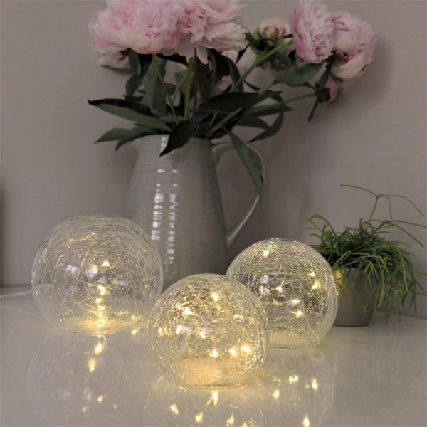 Crackle Glass Ball Lights-0