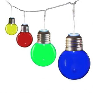 Coloured Bulb String Light V2-3027