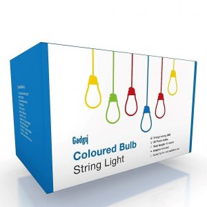 Coloured Bulb String Light V2-3026