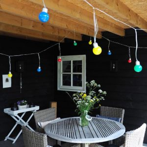 Coloured Bulb String Light V2-3053
