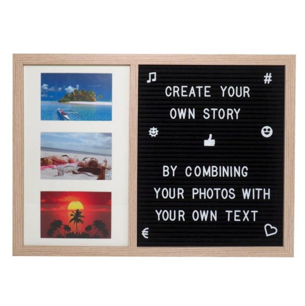 Letter Board Picture Frame Large – 2 parts-3437