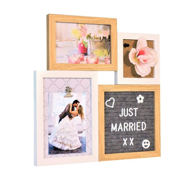 Letter Board Picture Frame Small – 4 parts-0