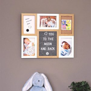 Letter Board Picture Frame Small – 6 parts-3240