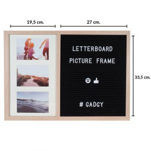 Letter Board Picture Frame Large – 2 parts-3439