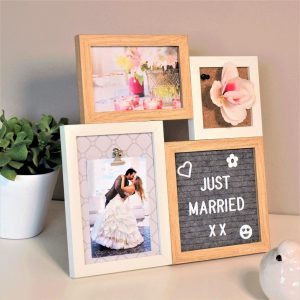 Letter Board Picture Frame Small – 4 parts-3221