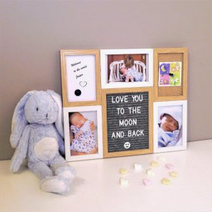 Letter Board Picture Frame Small – 6 parts-3245