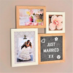 Letter Board Picture Frame Small – 4 parts-3219