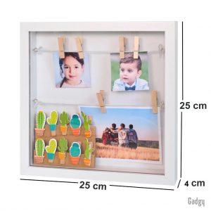 3D Frame White-3489