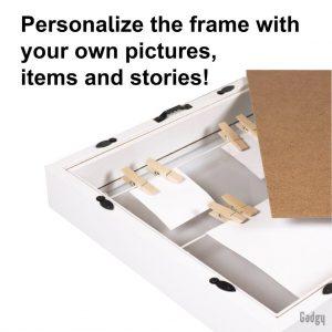3D Frame White-3493