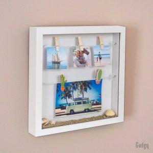 3D Frame White-3495