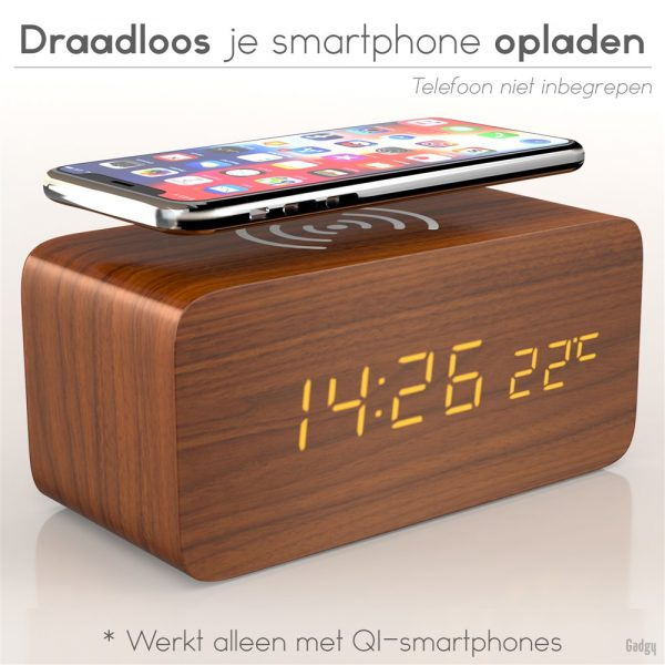 Alarm Clock phone charger-0