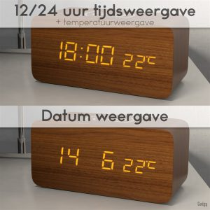 Alarm Clock phone charger-3569