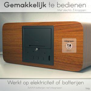 Alarm Clock phone charger-3570