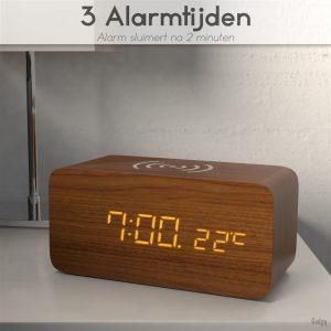 Alarm Clock phone charger-3571