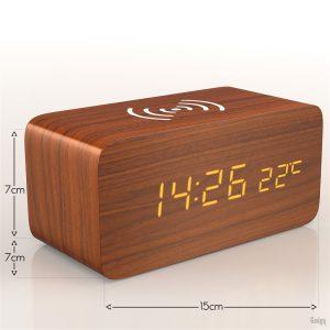 Alarm Clock phone charger-3572